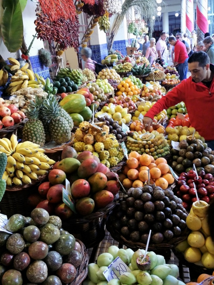 Mercado dos Lavradores à Funchal