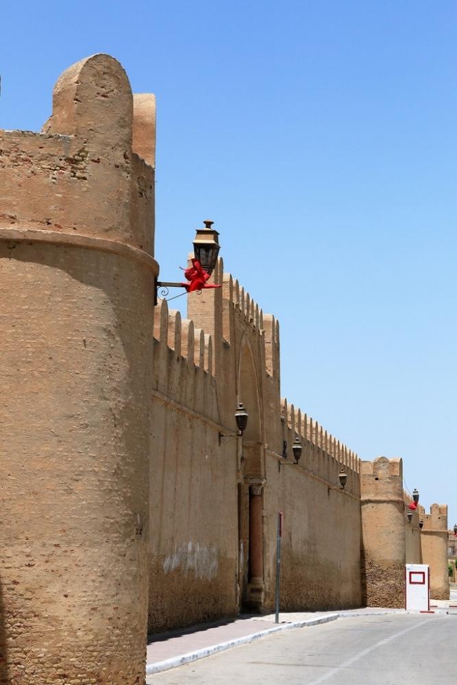 les murailles de la ville de Karouan