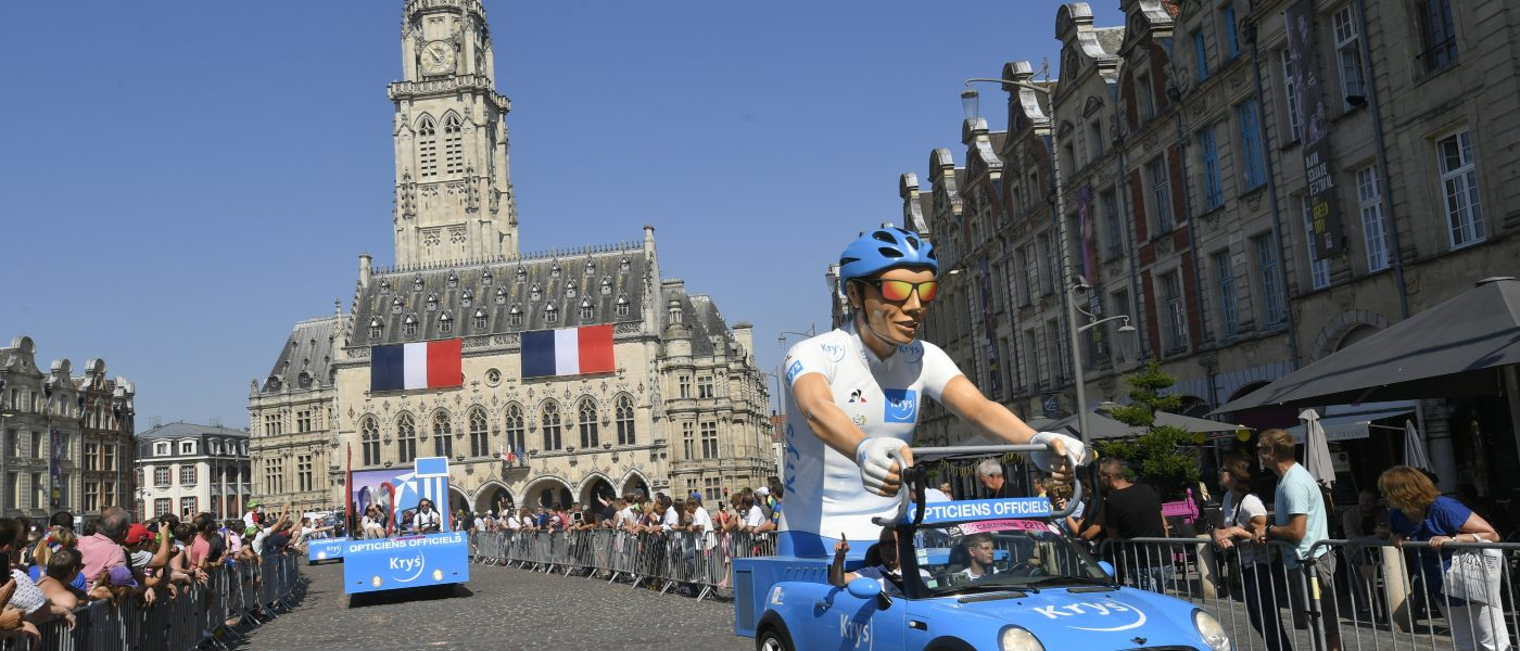 « le bus de la vue et de l'audition » Krys fait son Tour de France