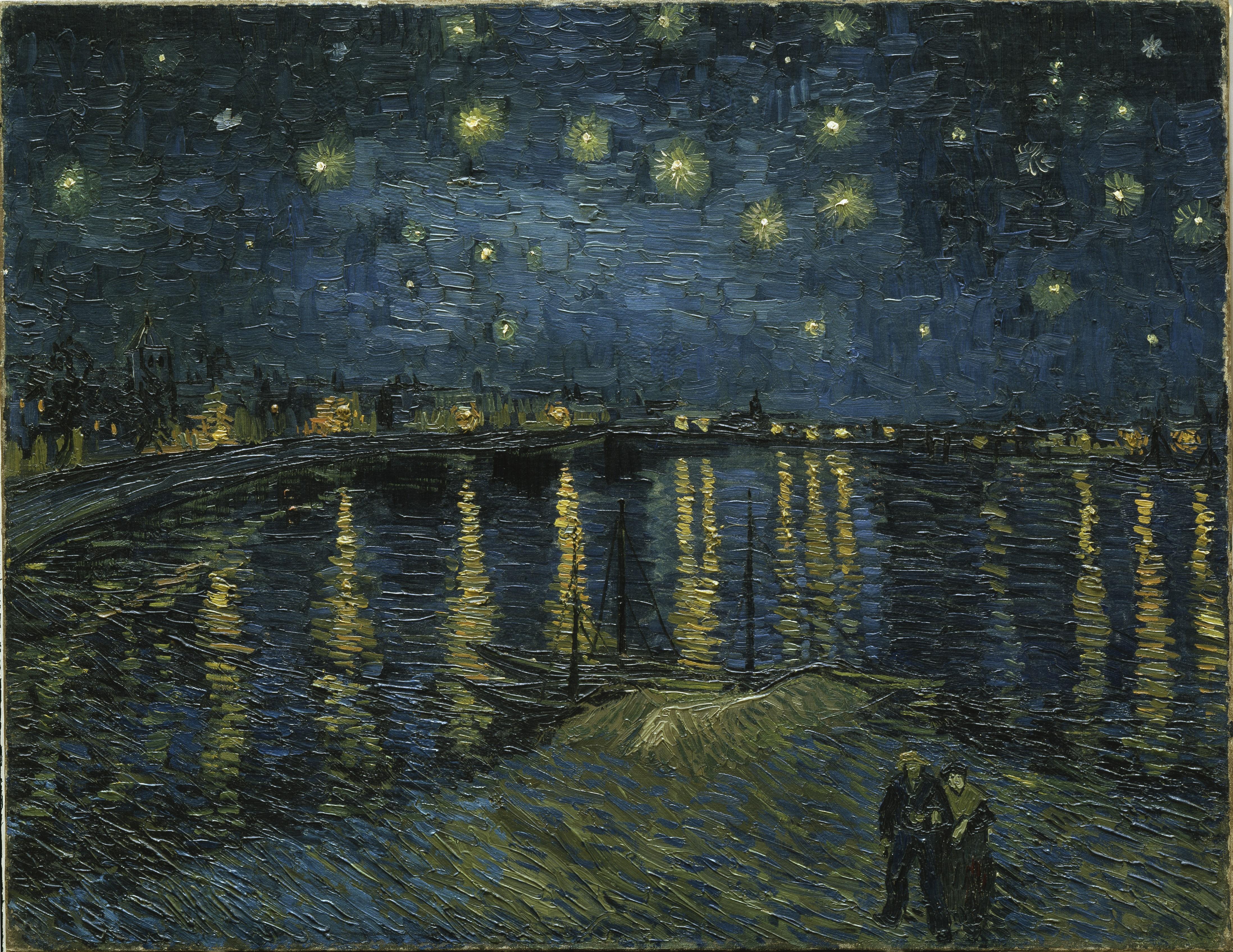 """Van-Gogh """"Nuit-étoilée"""""""