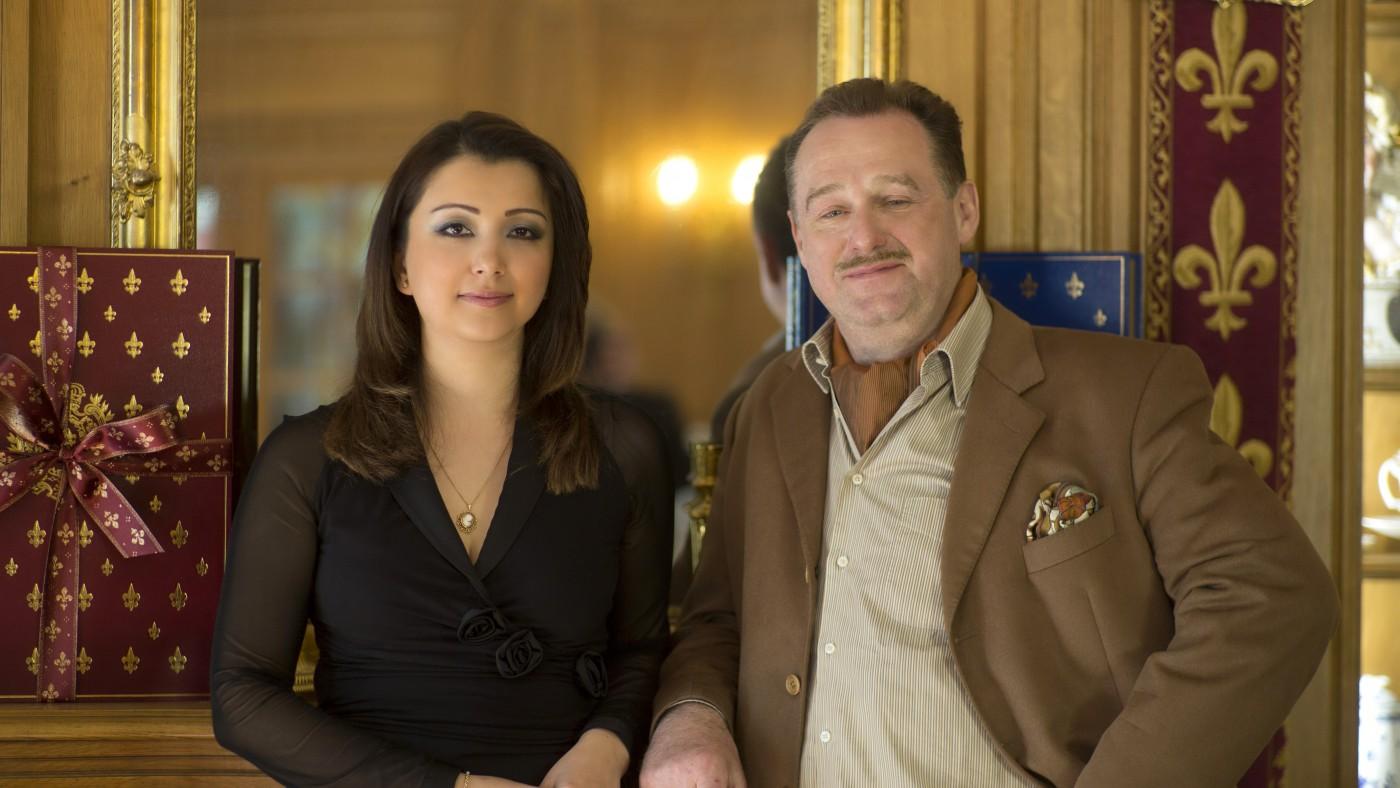 Diane Junique et Bernard Poussin