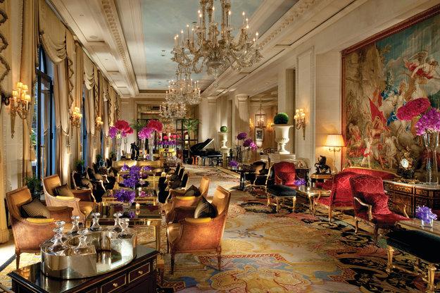 Palace parisien : le four seasons hôtel George V