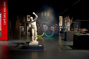 Entrée de l'exposition permanente MNS (c) M.Erlich