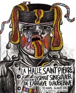 Affiche L'esprit singulier Halle St Pierre