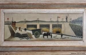 Le Pont de Grenelle Henri Rousseau Coll. Musée d'Art Naïf et des Arts Singuliers, Laval_Cliché Ville de Laval - Marine Dubois