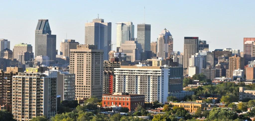 Montreal quartier des affaires