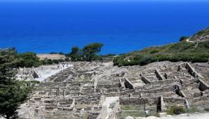 Ville antique de Kamiros (c)B.Charton