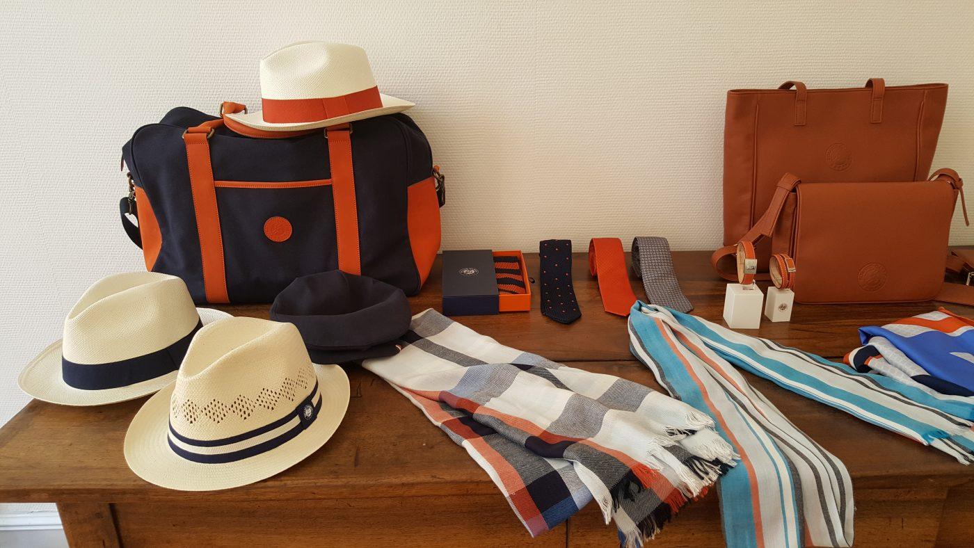 Panama Montecristi, sac, étole, cravate, montre, ceinture(c)MF Souchet