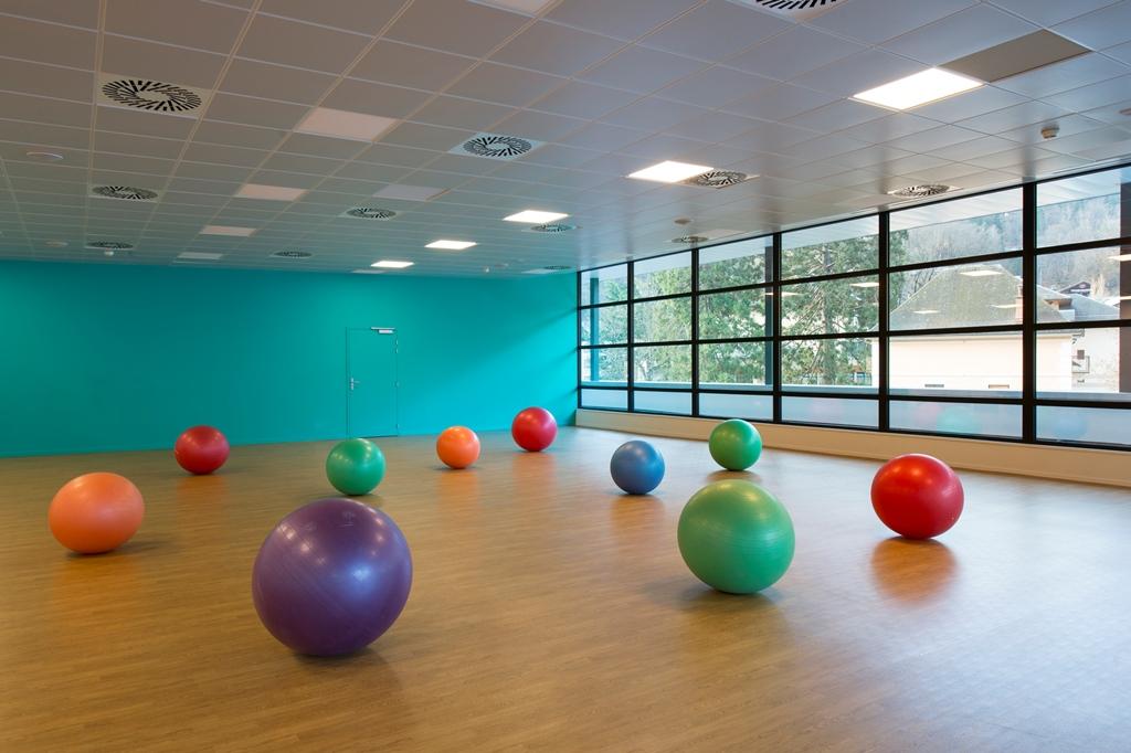 Activité physique au Grand Spa Thermal(c)Gilles Lansard