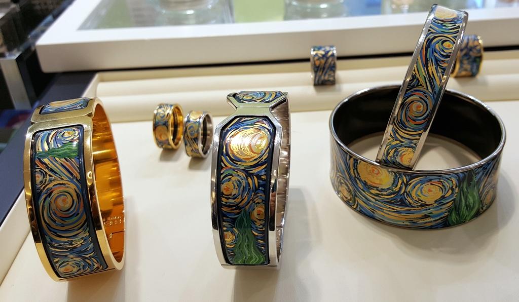 Bagues et bracelets Eternité(c)MF Souchet
