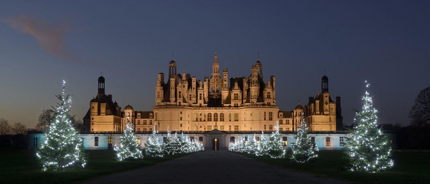 La féerie de Noël au Château de Chambord : illuminations, spectacle et animations