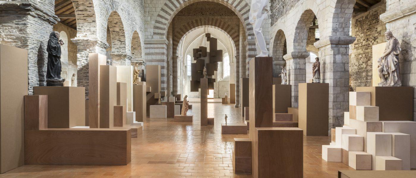 La Collégiale Saint Martin d'Angers fait la part belle à l'Art Contemporain