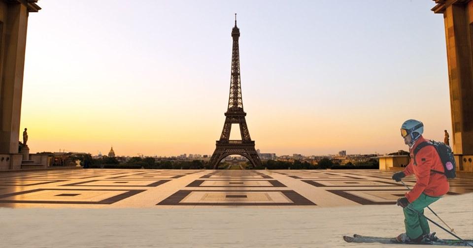 La montagne à Paris au Trocadéro et Porte de Versailles…