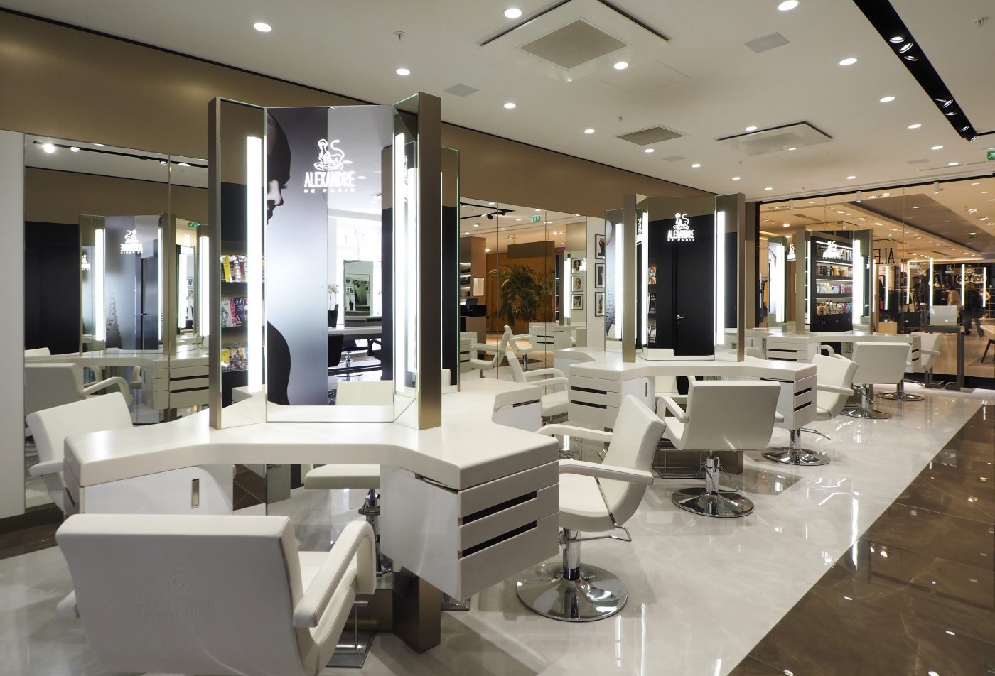 Nouveau la haute coiffure aux galeries lafayette - Salon de coiffure vip ...