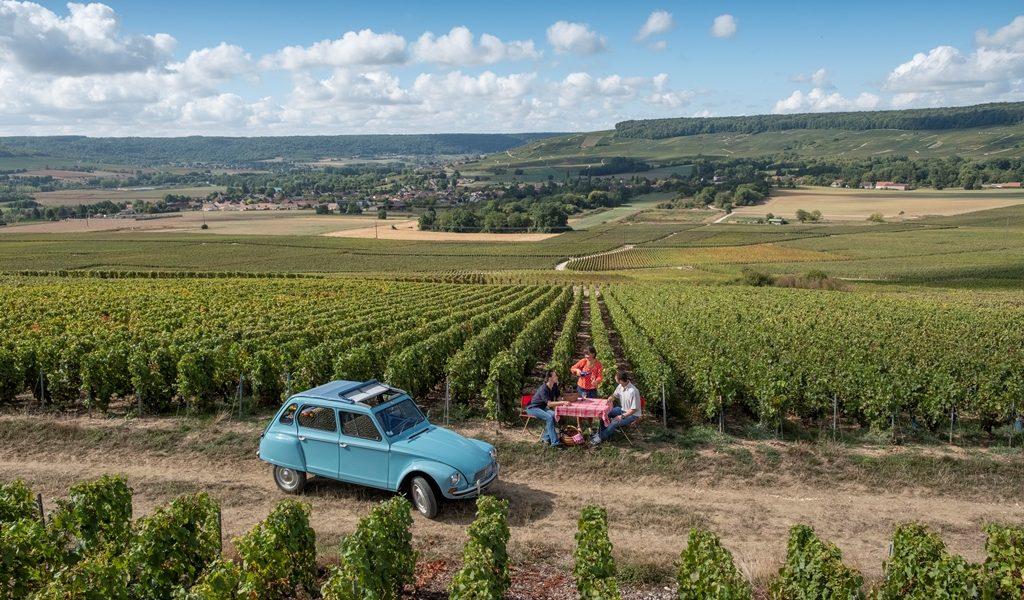 ART ET CHAMPAGNE, une balade vintage dans le sud de l'Aisne