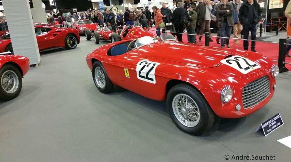 Barquette Ferrari