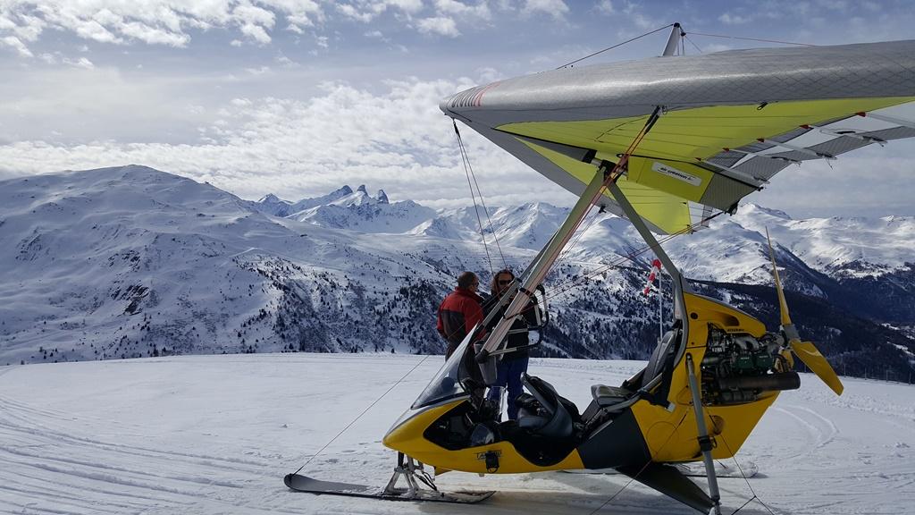 Joies des sports d'hiver à Valmeinier