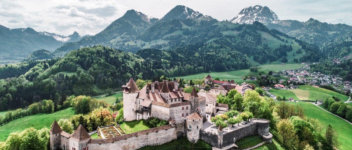 Fribourg et alentours, la Suisse de nos amours