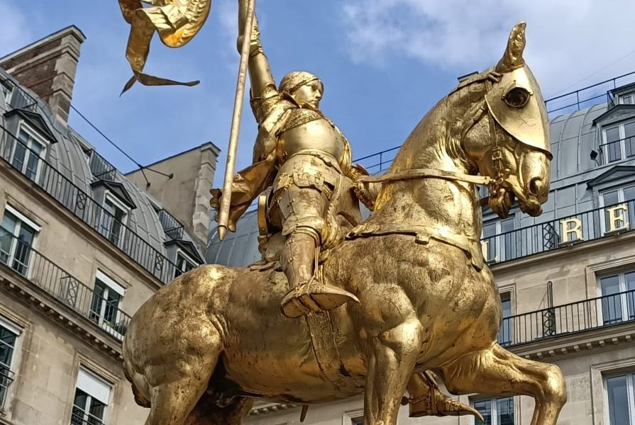 Sur les pas de Jeanne d'Arc