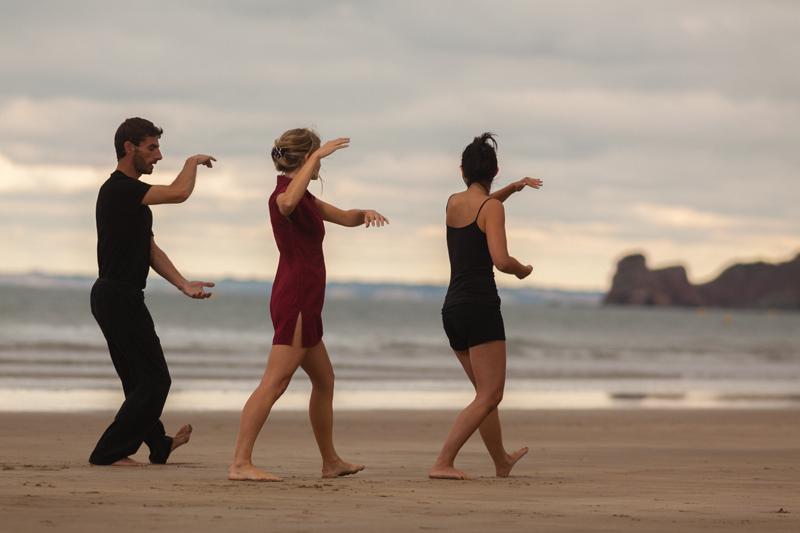 Activité bien-être sur la plage(c)Thalasso Serge Blanco