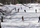 La neige et le soleil ont donné le sourire à la montagne