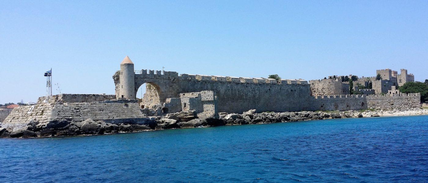 Rhodes: une île unique, l'île des Chevaliers