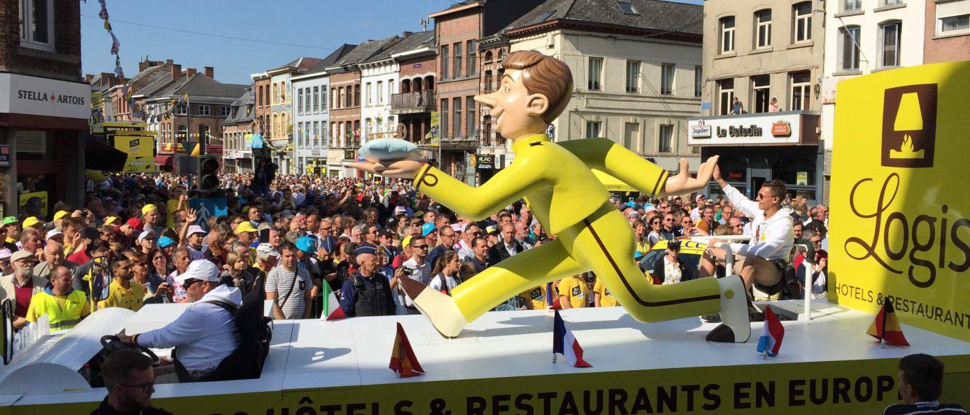 Logis fait son entrée sur le Tour de France