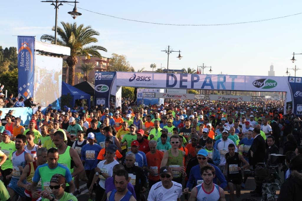 Le départ du semi-marathon vient d'être donné © Dominique ROUDY
