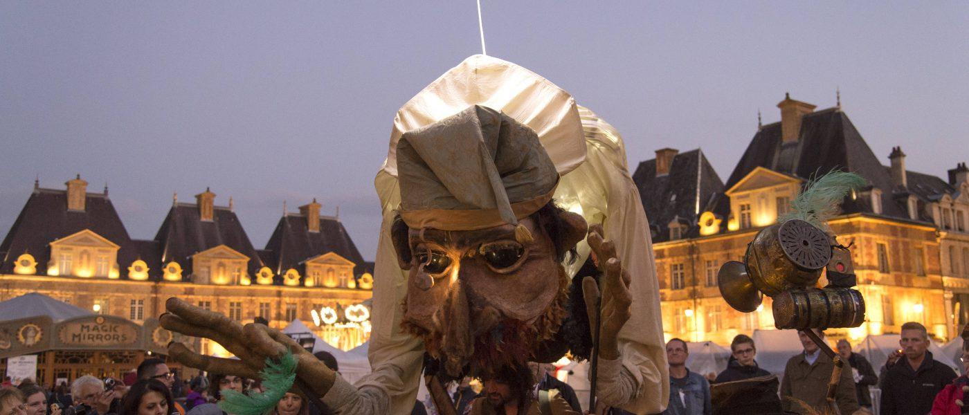 Festival de la marionnette à Charleville Mézièreavec junior !