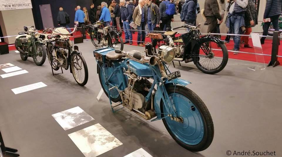 Motocyclettes de competition