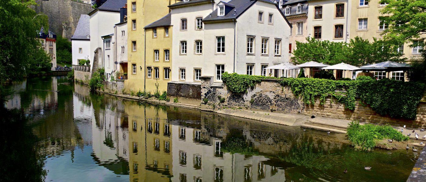 Luxembourg.La ville inattendue