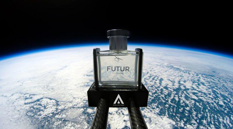 FUTUR, le fascinant parfum ayant voyagé dans la stratosphère