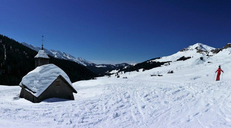 Ski aux pieds au Grand Bornand/Chinaillon avec MGM