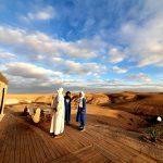 Découverte du désert d'Agafay depuis l'Inara Camp au Maroc