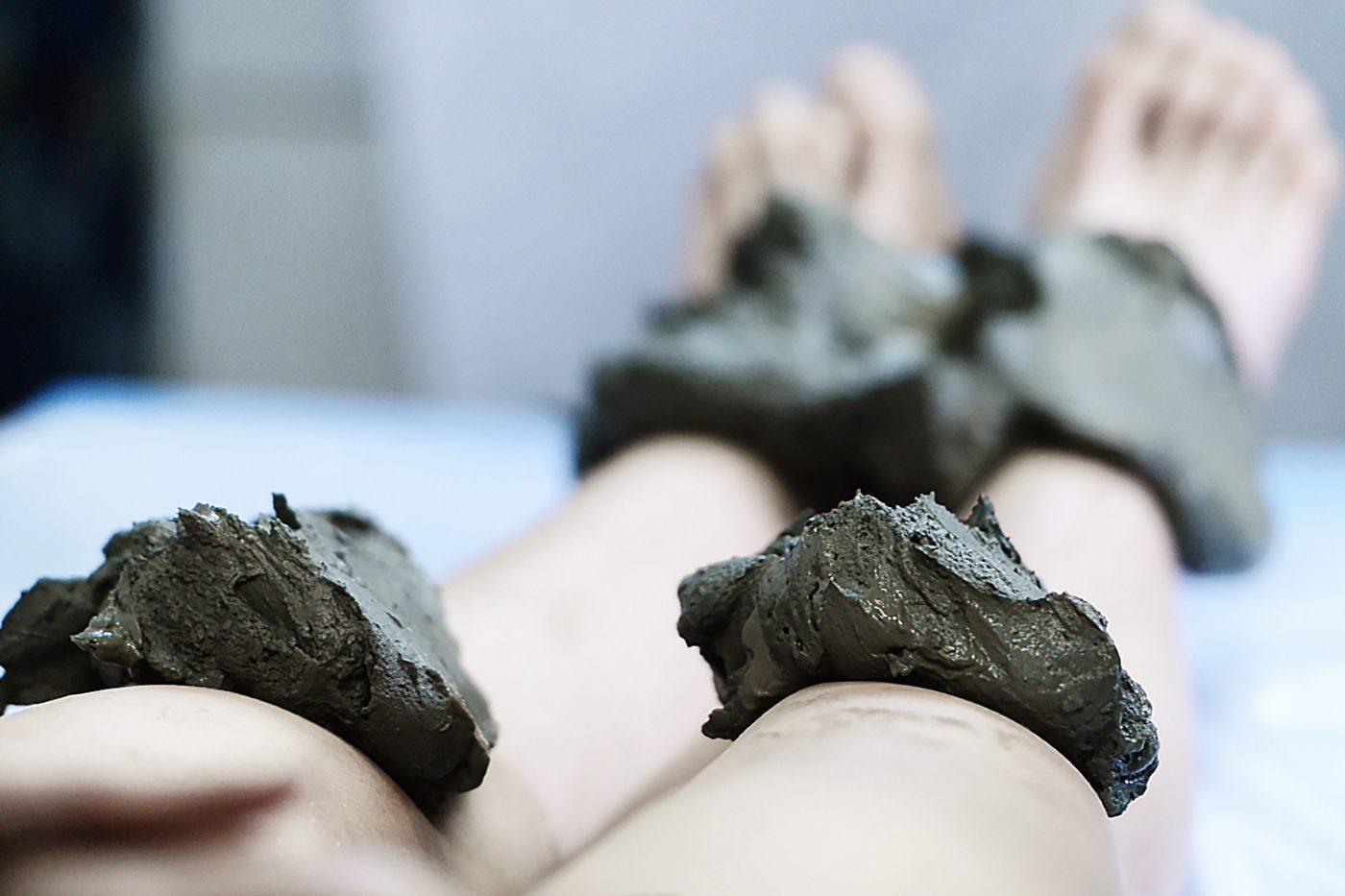 La célèbre boue Peloïde(c)Les Thermes