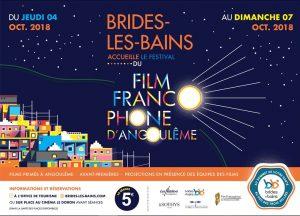 Affiche Festival du Film Francophone d'Angoulême via Brides