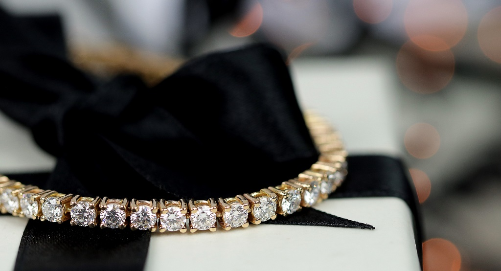 Bracelet Rivière de diamants(c)Baunat